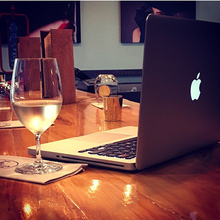 Working late is better when vino is involved image: facebook.com/levinwinebar