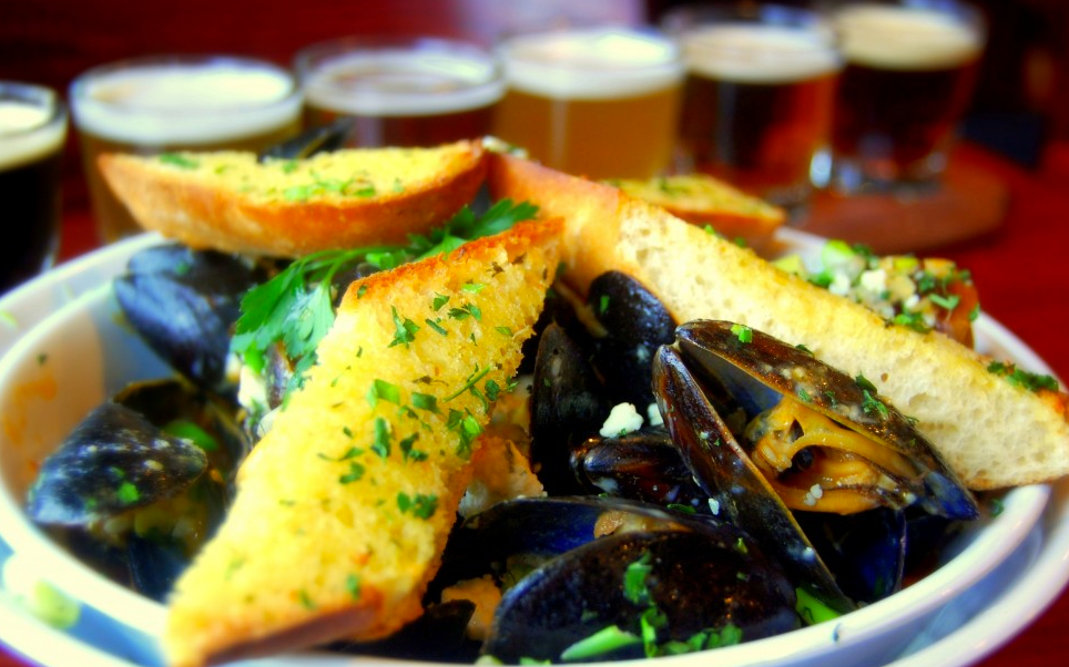 Choose your style of mussels at The Tap Room. image: facebook.com/TapRoomPatch/