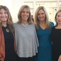 IGHL board members Janet Fernandez and Donna LoDuca, IGHL CFO Mary Beth Licht- neger and IGHL Board Member Nella Hahn