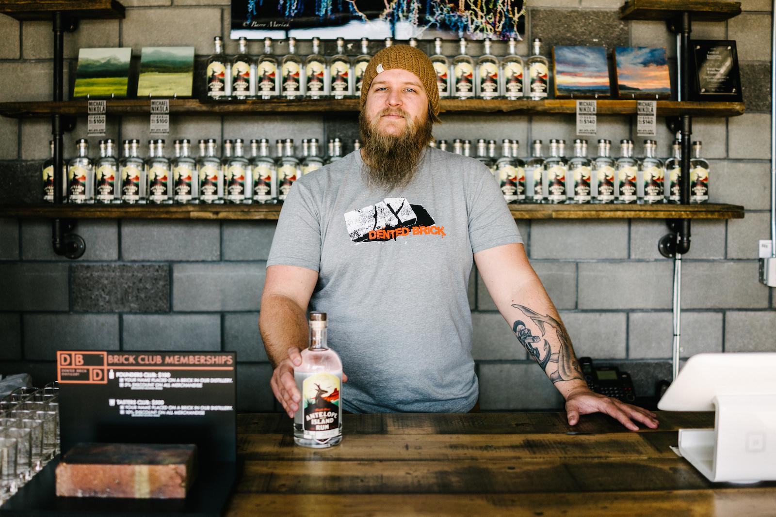 DentedBrickDistillery-Ethan Miller, Head Distiller-credit AustenDiamondPhotography-30
