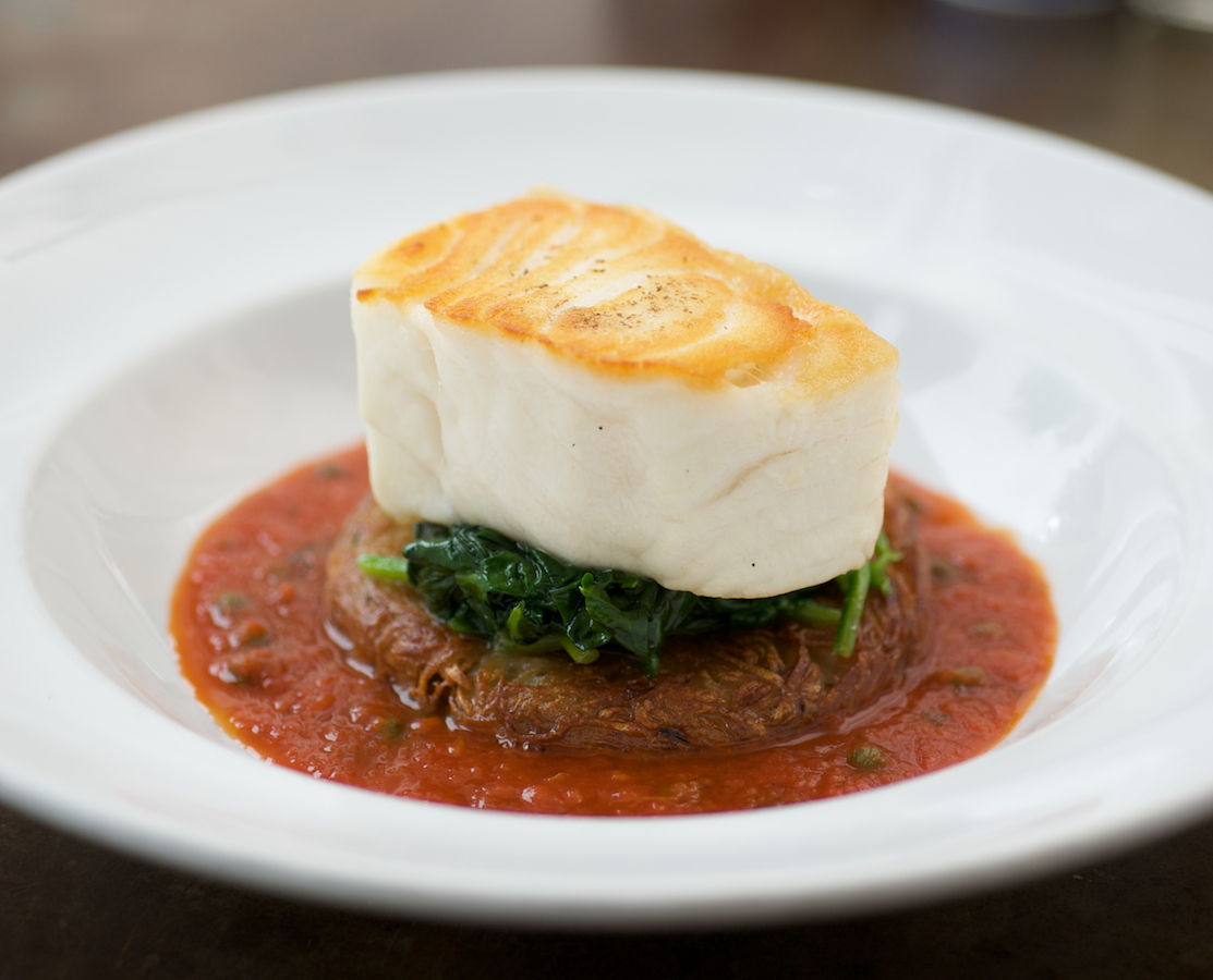 The Chilean seabass is a staple at H2O