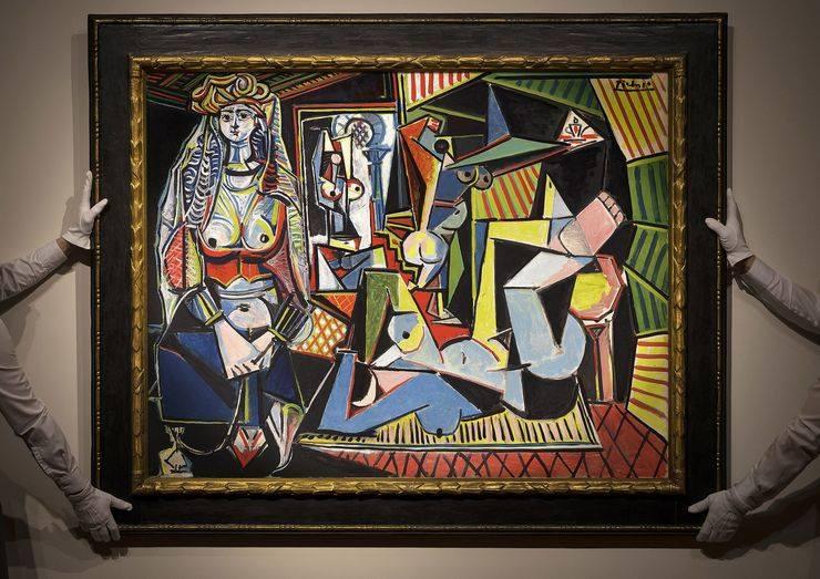 """Pablo Picasso's """"Les Femmes d'Alger"""""""