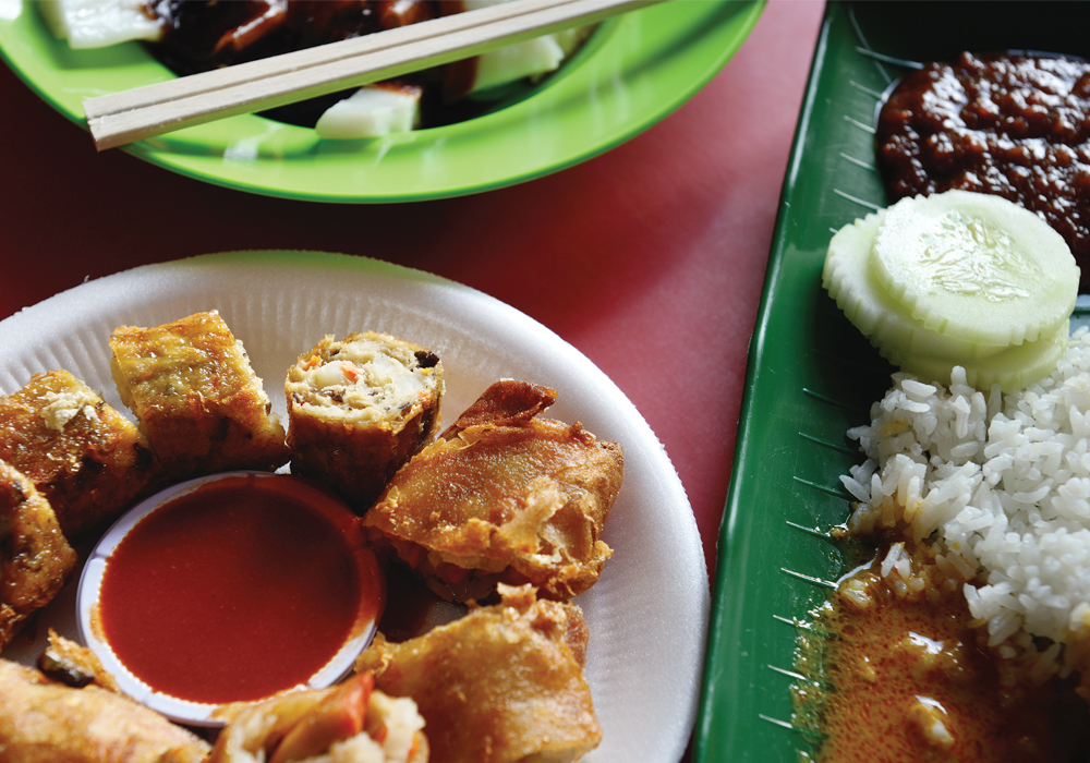 Singapore's diversity makes it a destination offering a variety of cuisines.