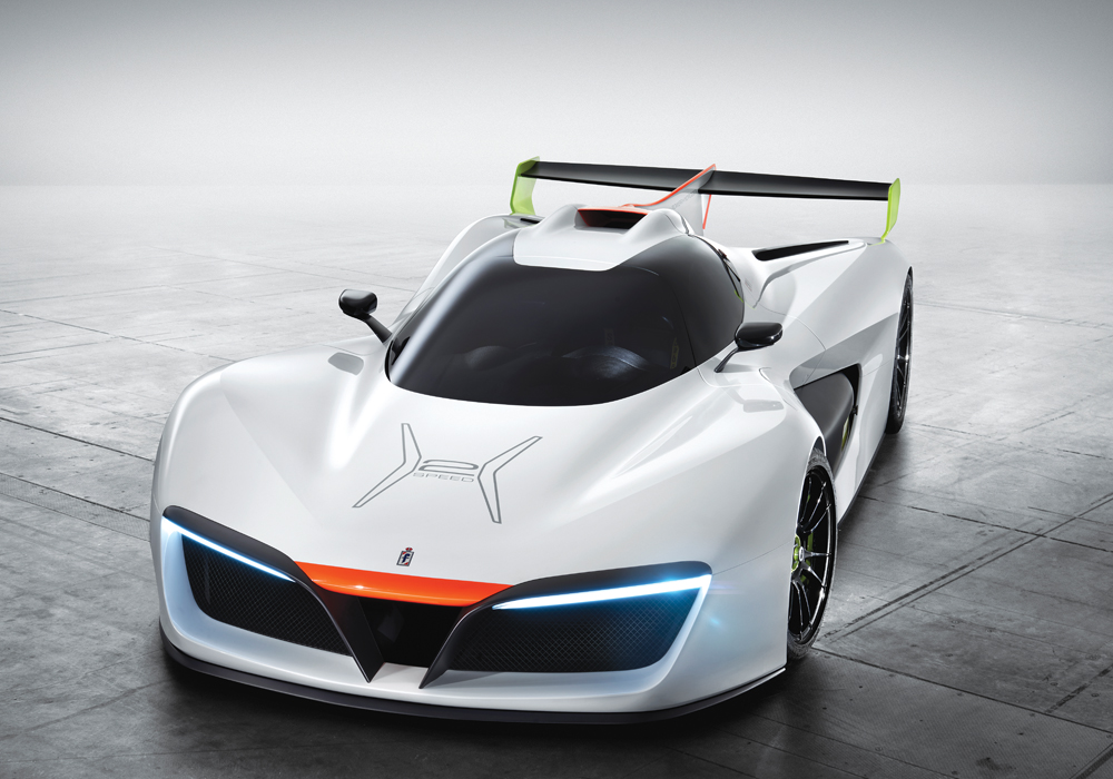 GreenGT motor technology powers this high-performance supercar.