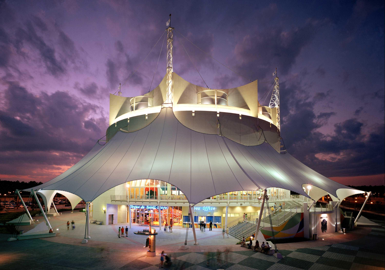 La Nouba Theater at Disney Springs courtesy of Walt Disney World