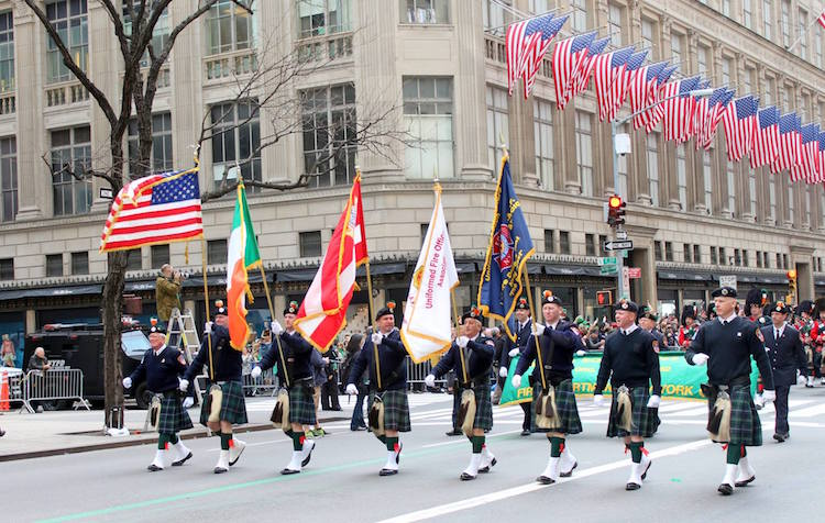 NYC St Patricks Day Parade