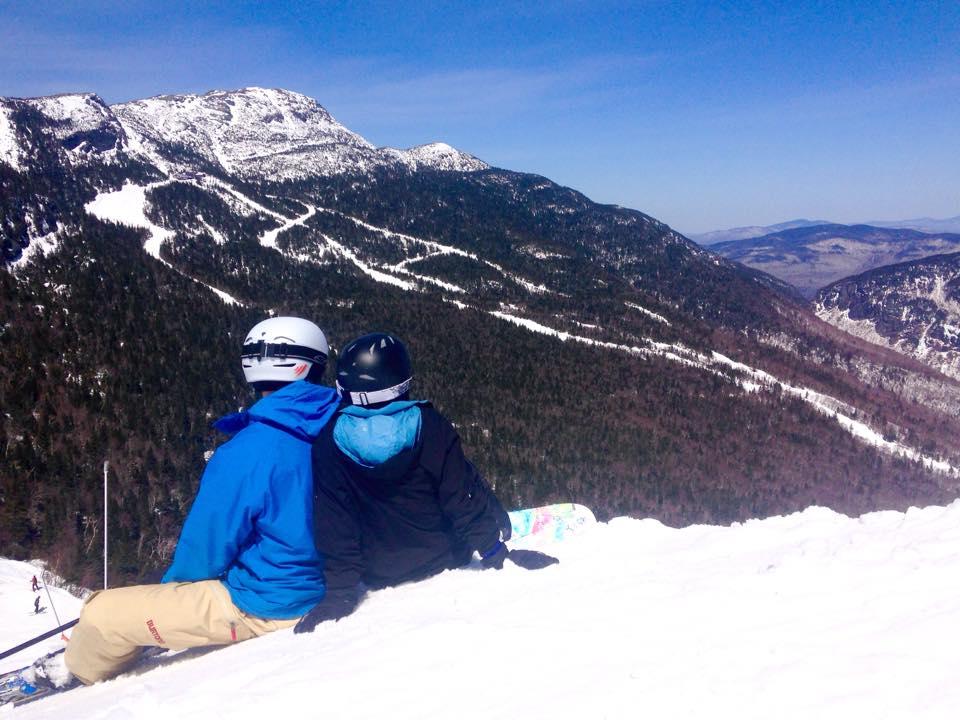 Couple on Mountain