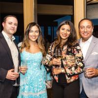 Scott Lorber, Camila Medici-Lorber, Veena Soliman & Ayman Soliman