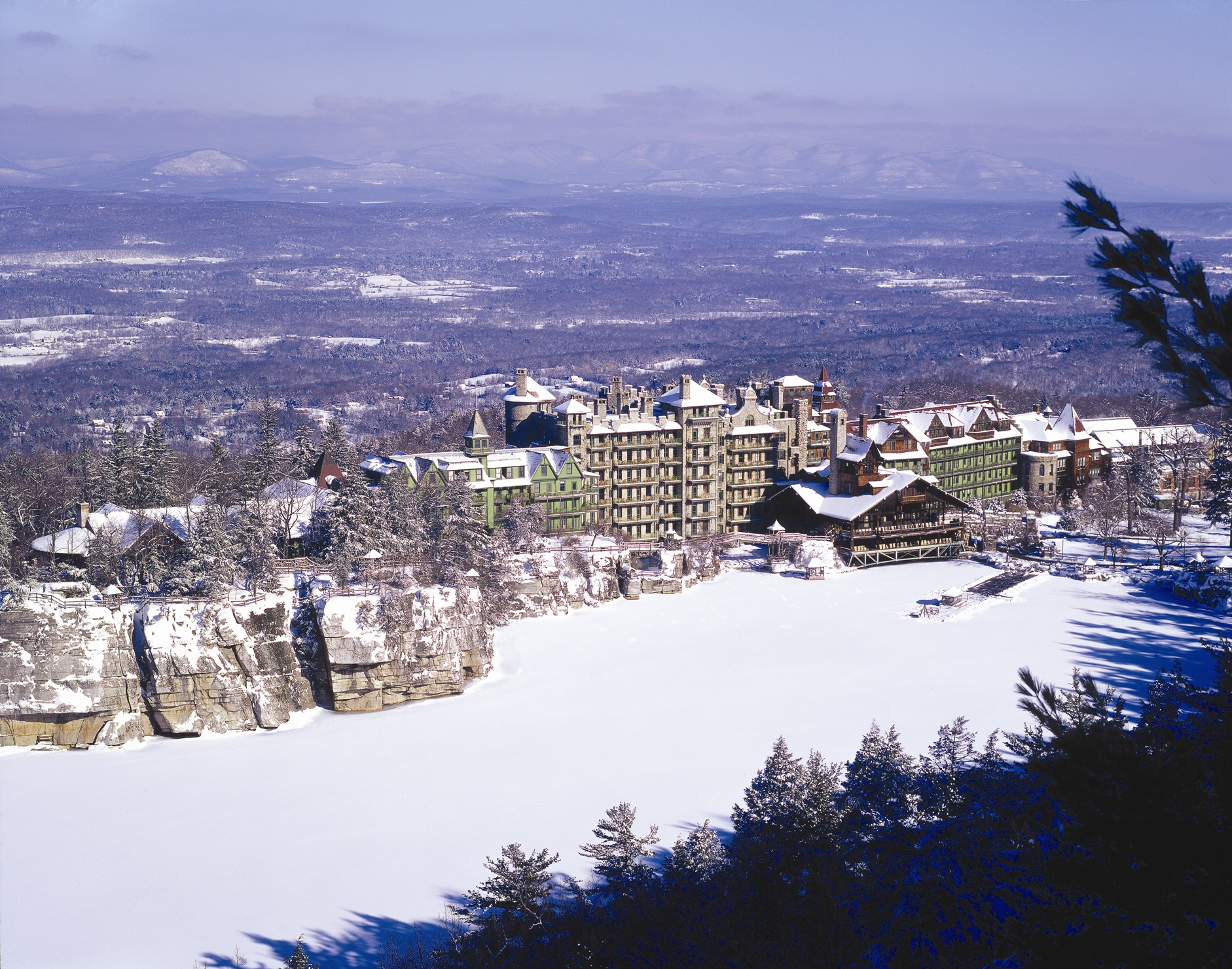 Mohonk Mountain House Winter - Jim Smith Photography