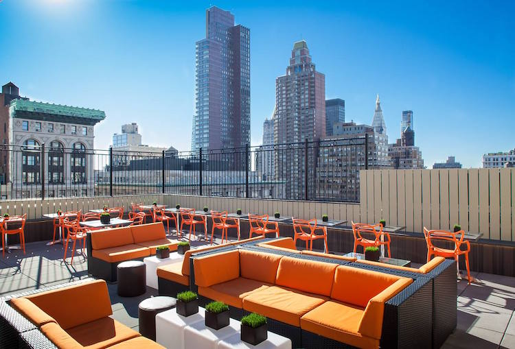 Rooftop Bars Near Penn Station