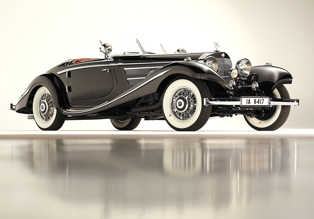 The 1936 Mercedes-Benz 540K Special Roadster is a marque that never loses value.