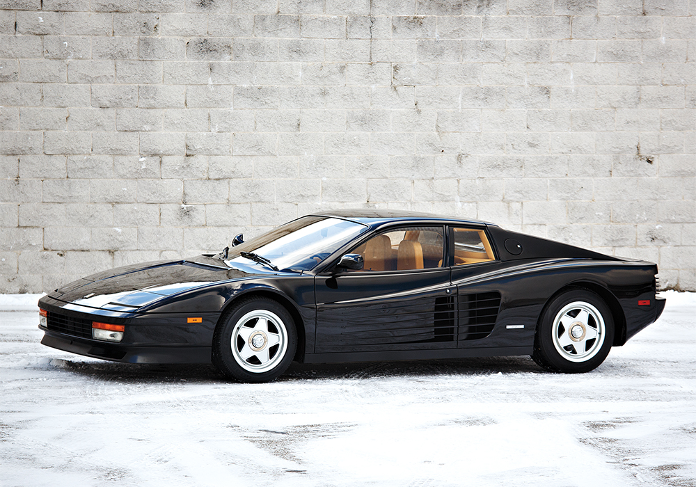 The 1987 Ferrari Testarossa revs fantasies, but costs a pretty penny to maintain its quality.