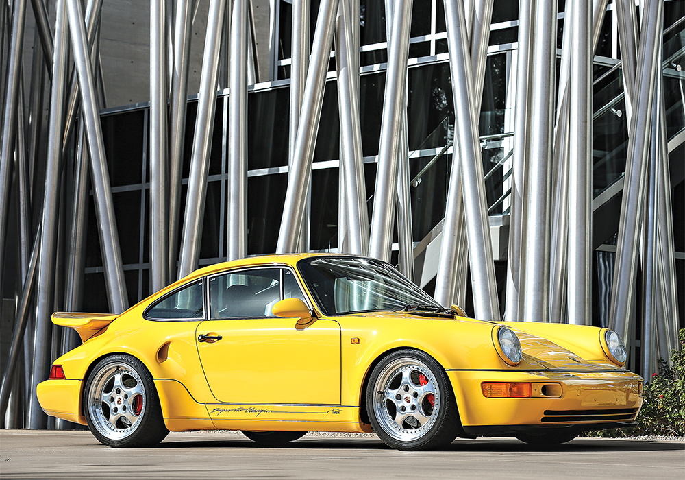 Porsche is the most in demand name on the market. The 1993 964 Turbo S Leichtbac recently sold for more than $1.5 million.