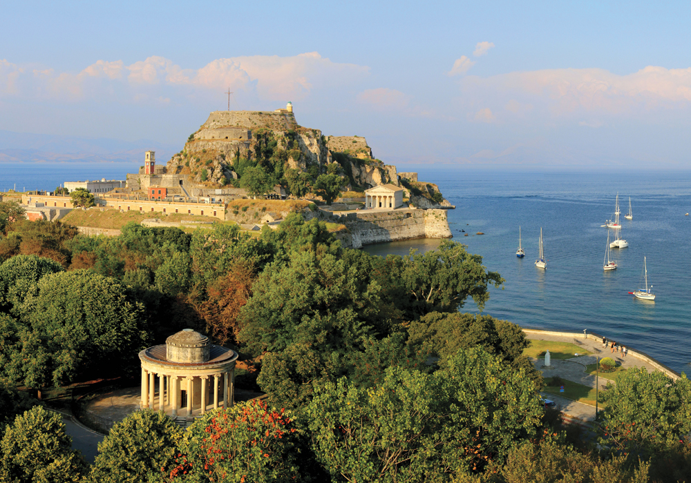Steeped in history, Corfu attracts sophisticated travelers.