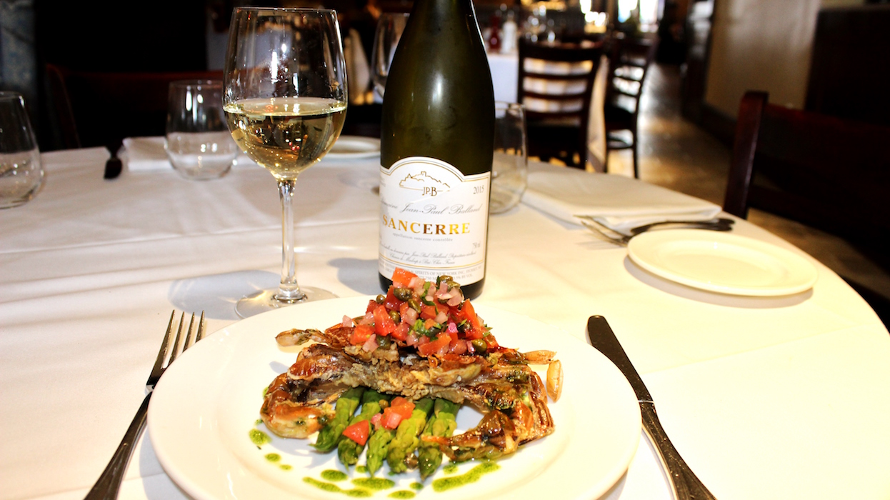 soft shell crab - sancerre