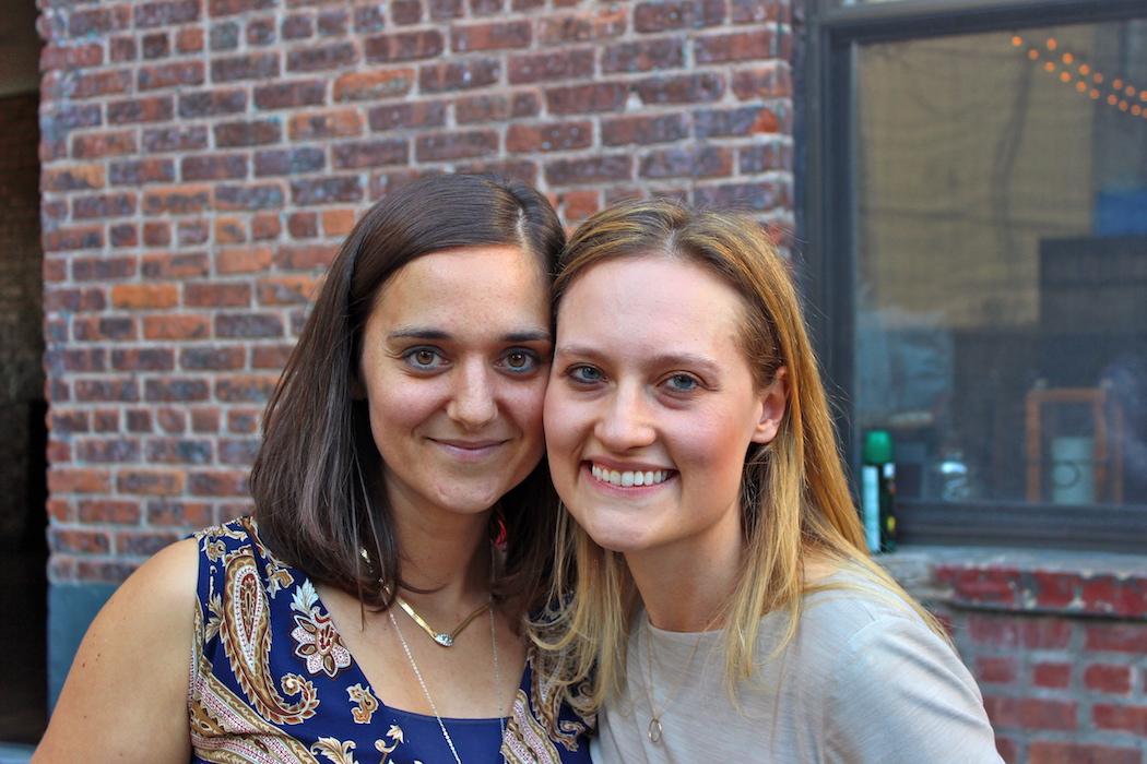 Rachel Bingman and her partner image: danielle egic