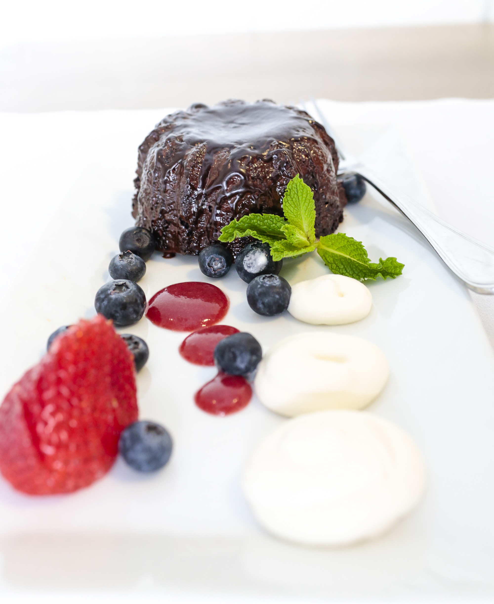 Molten Chocolate Lava Cake-Photo credit Eric Striffler