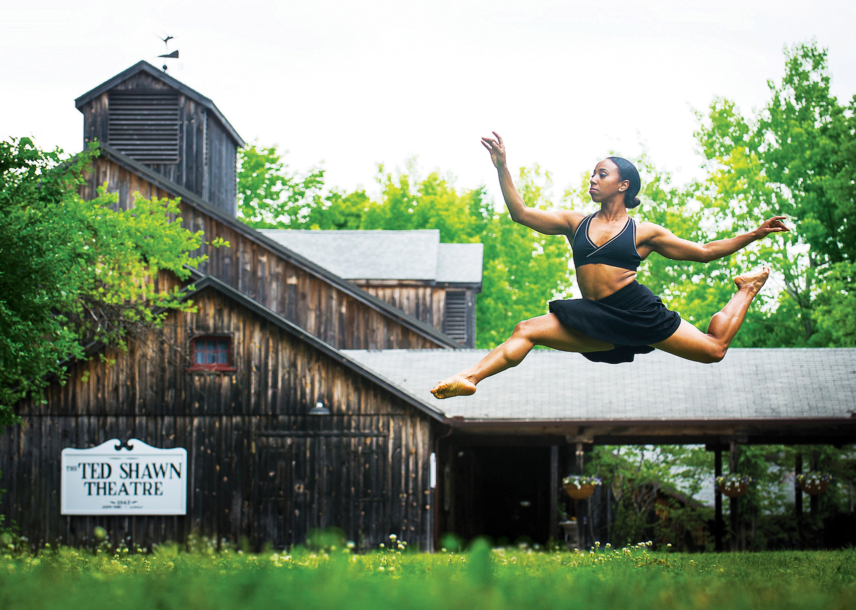 Chanel Da Silva at Jacob's Pillow