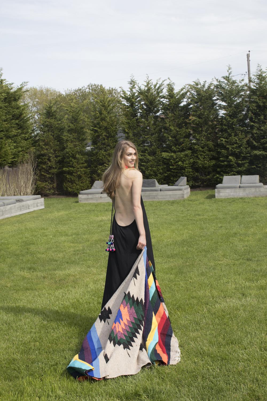 Surat dress - pom pom dress