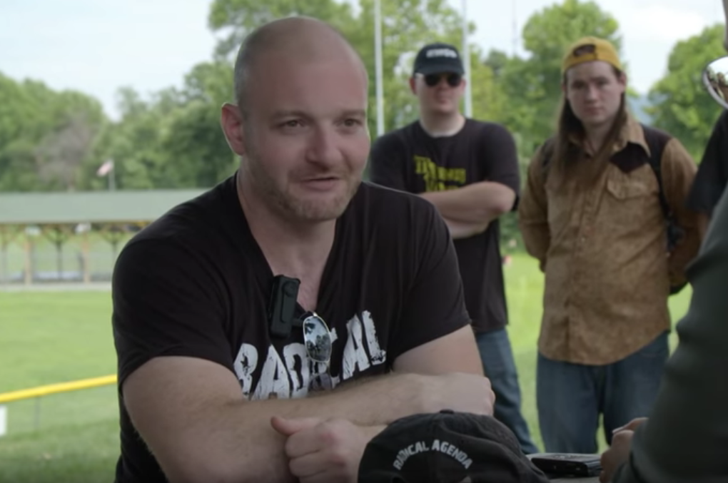 Racist Chris Cantwell criticized President Trump for allowing his daughter to marry a Jewish man during this interview with VICE News