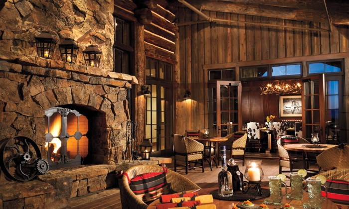 The great american lodge long island pulse magazine for Great american log homes