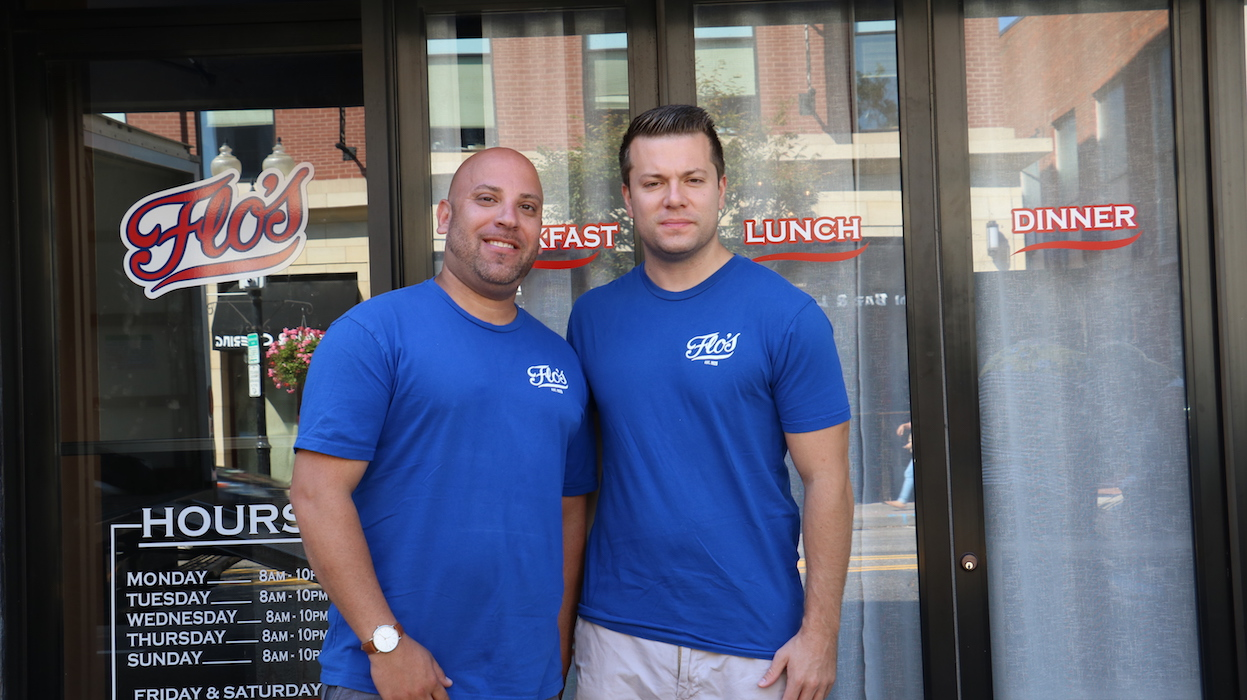 When Jason Tepper (left) asked Connor Vigliotta (right) to open Flo's on Main Street, Vigliotta responded by laughing.