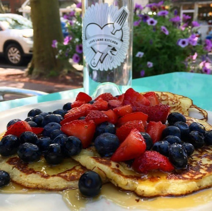 Lemon ricotta pancakes_Love Lane