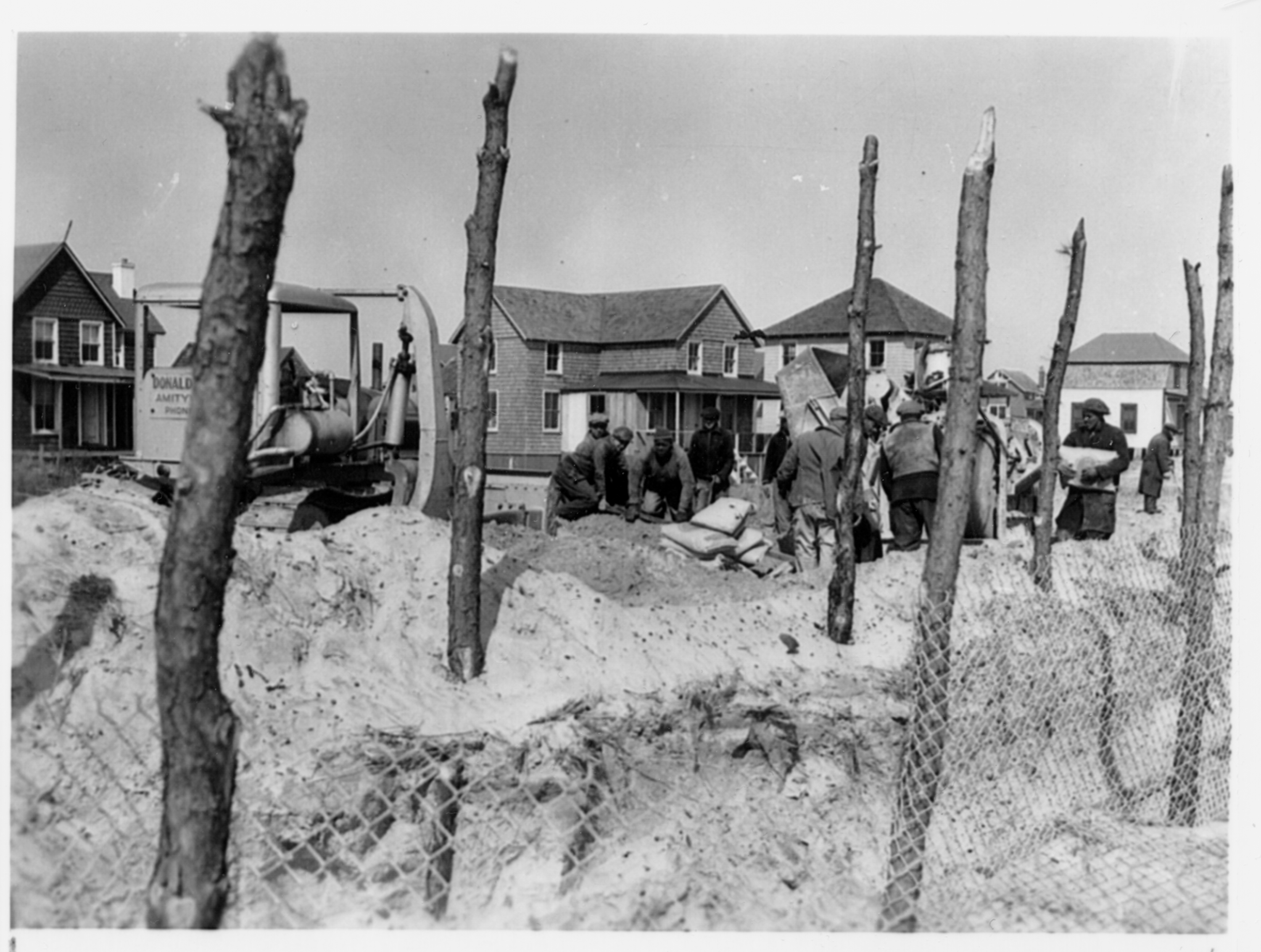 Building bulkheads on Fire Island image: national archives records administration