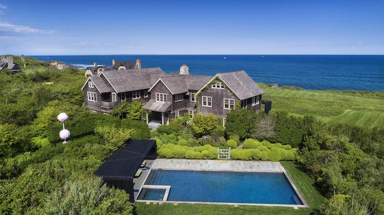 Adam Lindemann's Oceanfront Property