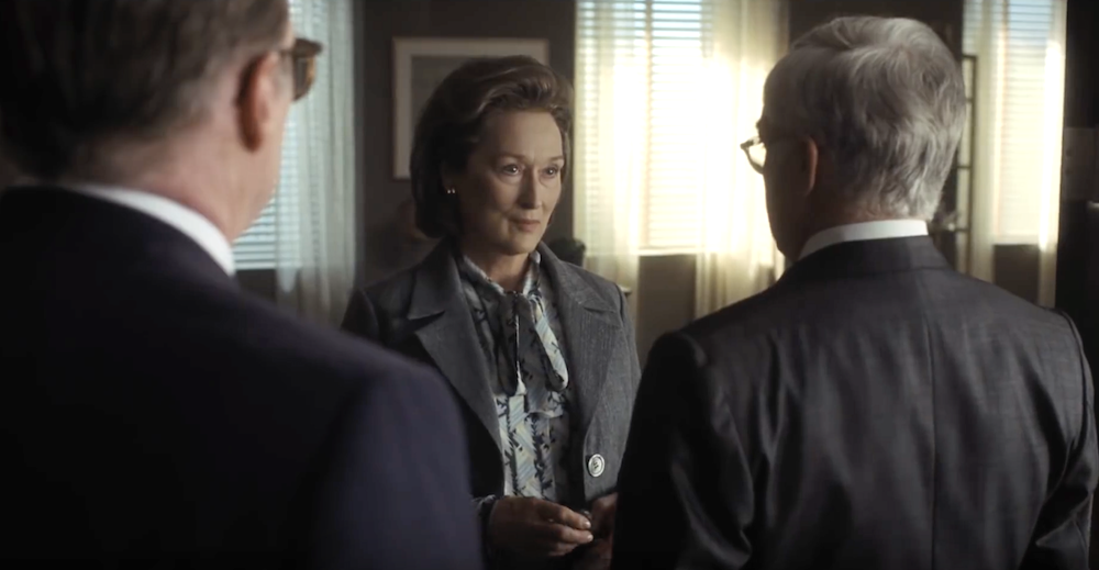 Meryl Streep in The Post