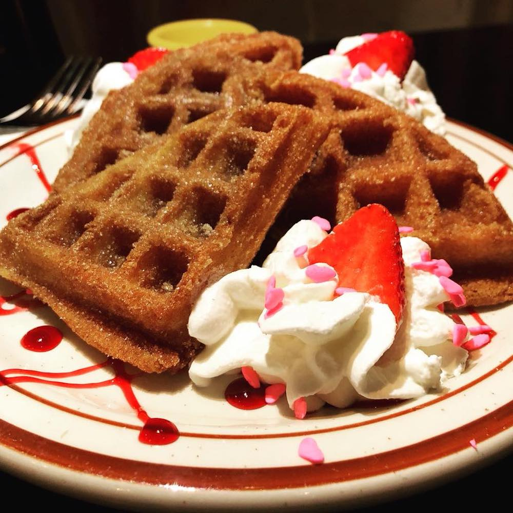 Brunch Churro Waffles