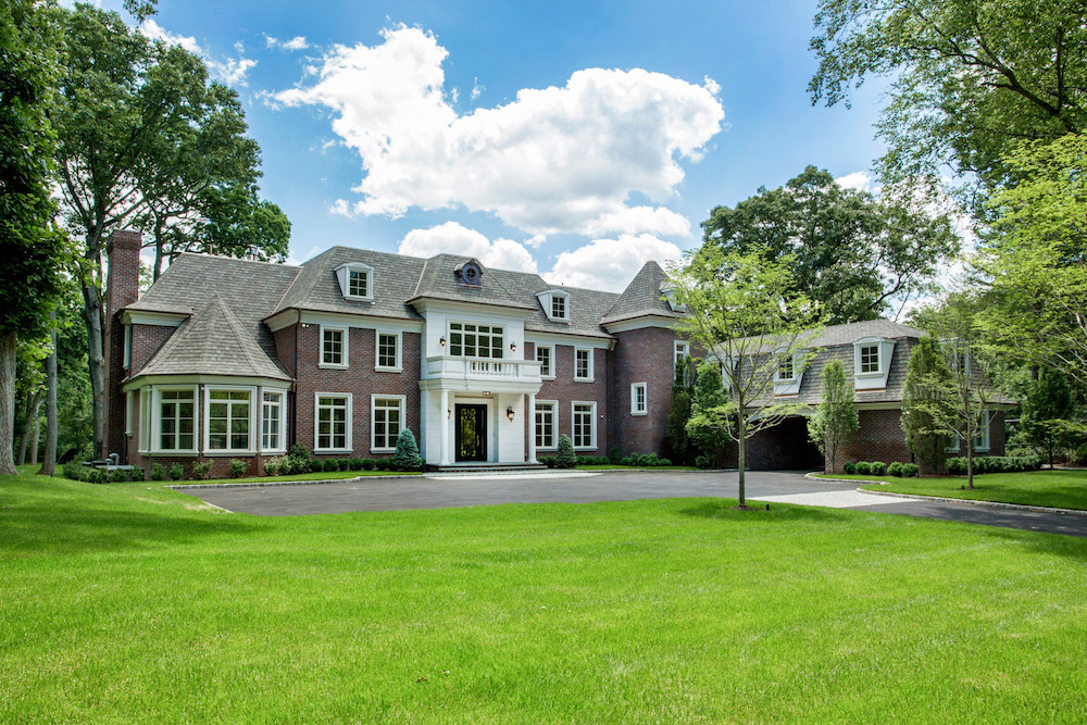 Home in Brookville for $6,200,000. image: douglas elliman