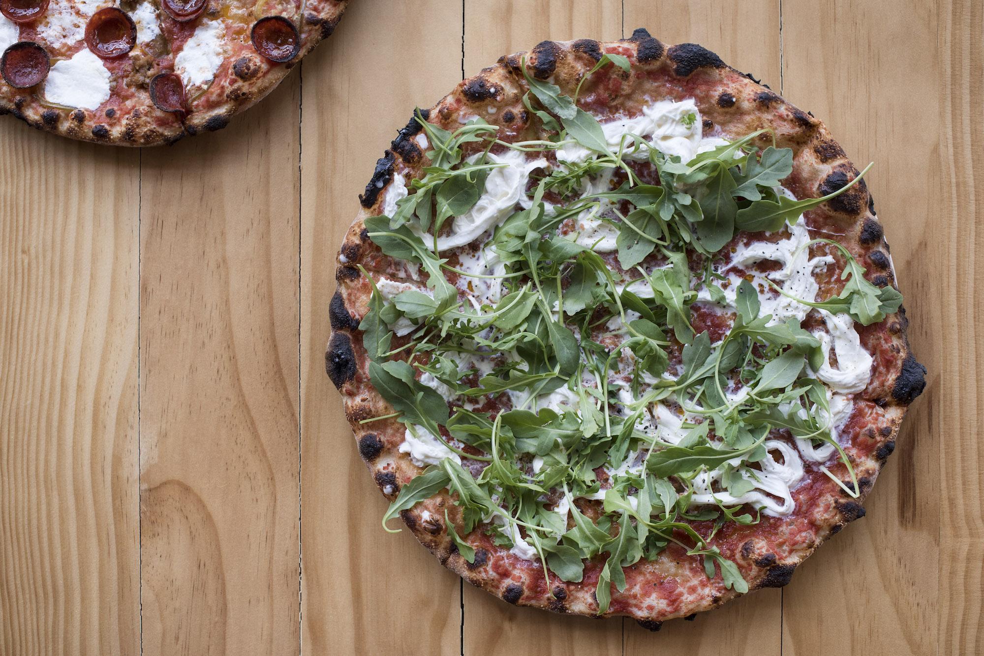 Beebe's_Stracciatella pizza - Liz Clayman