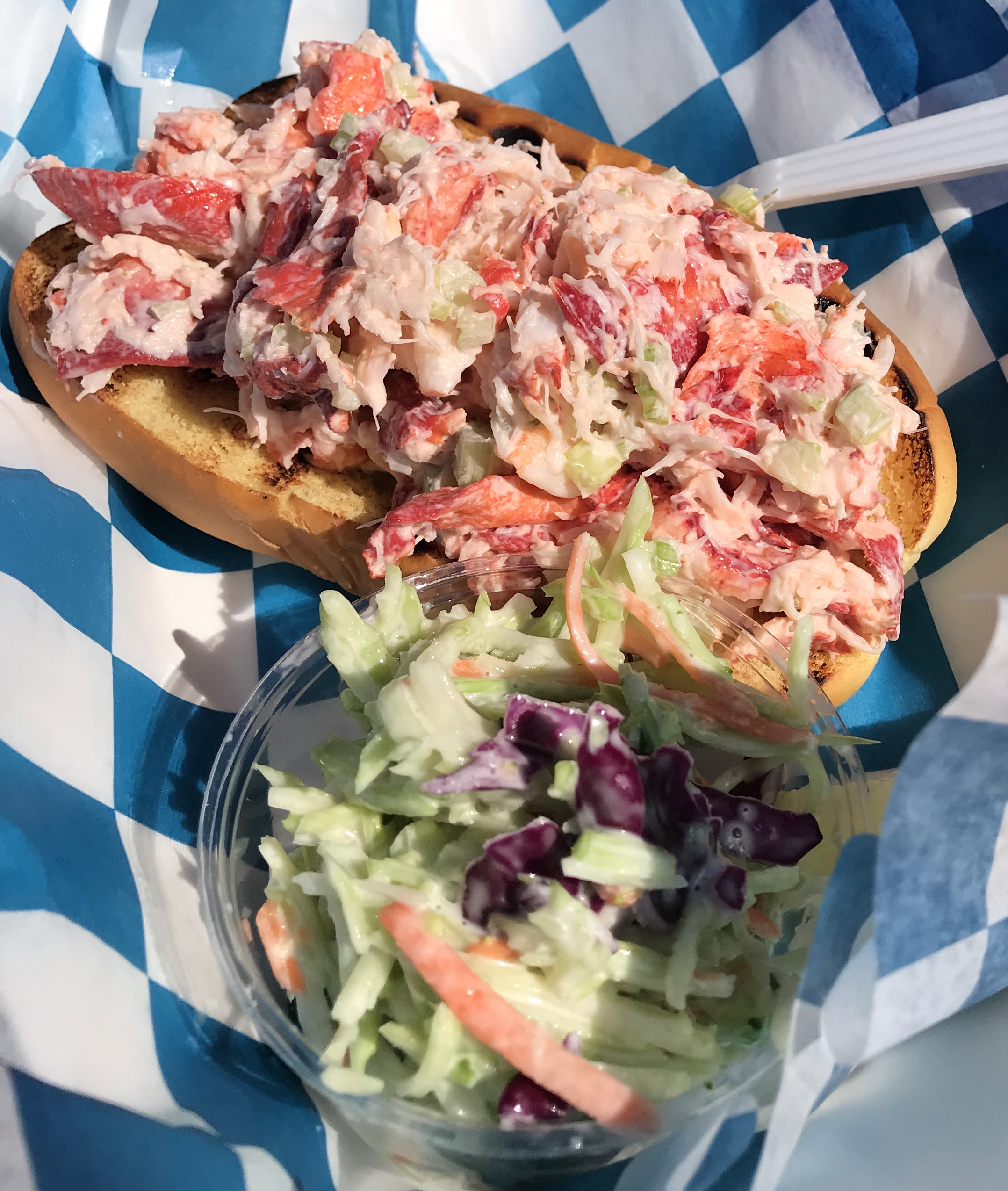 Lobster Roll at Hooked