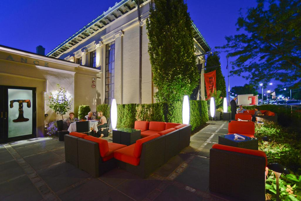The Patio At Tellers. Image: Tellers