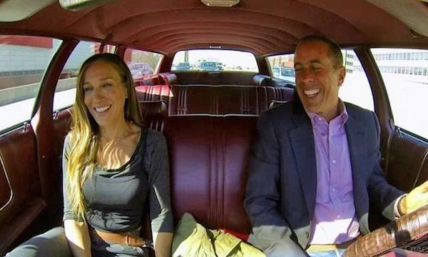 Seinfeld And SJP Drive An LTD To Long Island