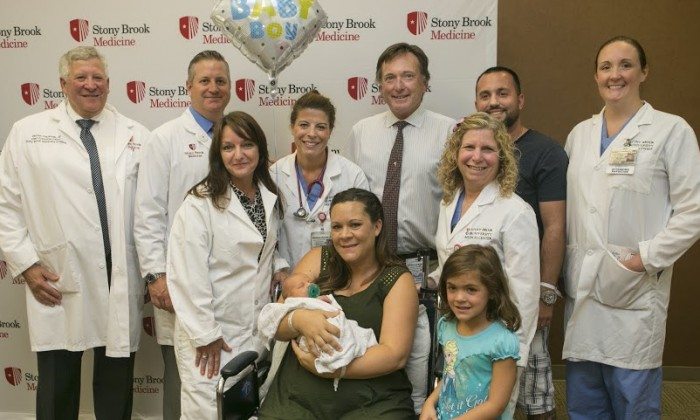 100,000th Baby Born at Stony Brook University Hospital