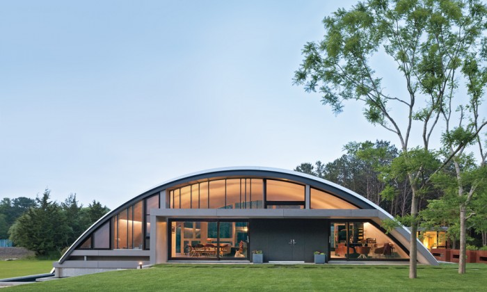 Delightful The Arc House Is The Crowning Jewel Of Experimental Architecture That  Marries Form And Function In Inimitable Design. Image: Courtesy Of MB  Architecture, ...