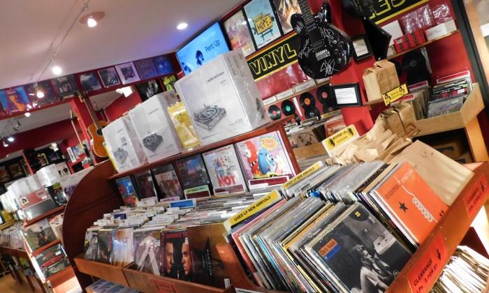vinyl records on long island